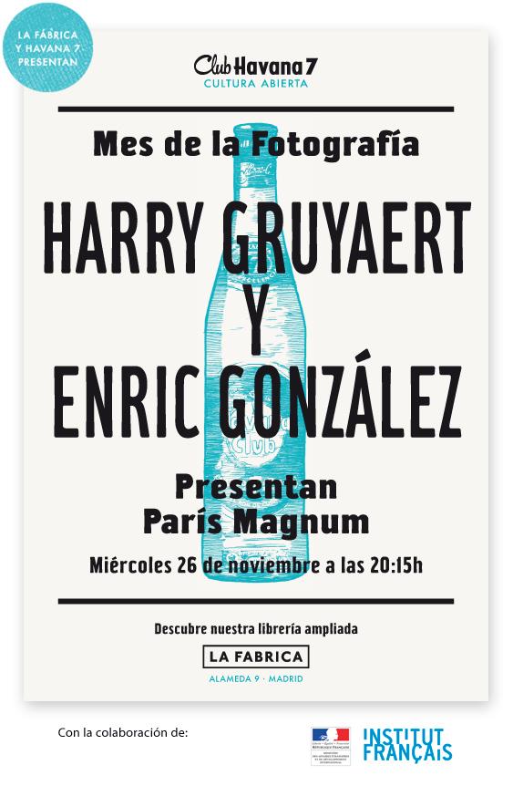 Harry Gruyaert y Enric González presentan 'La Fábrica: París, Magnum'