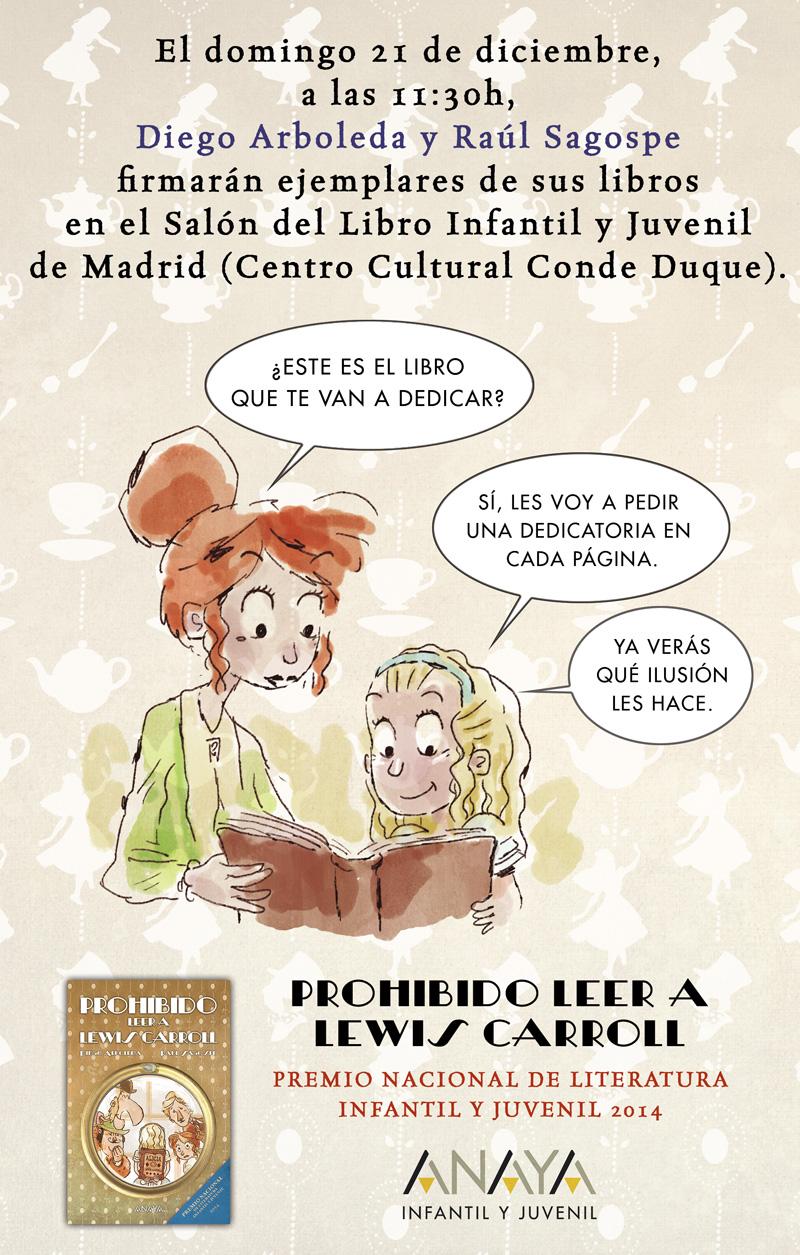 Diego Arboleda y Raúl Sagospe: firma de libros en el Salón del Libro Infantil y Juvenil de Madrid