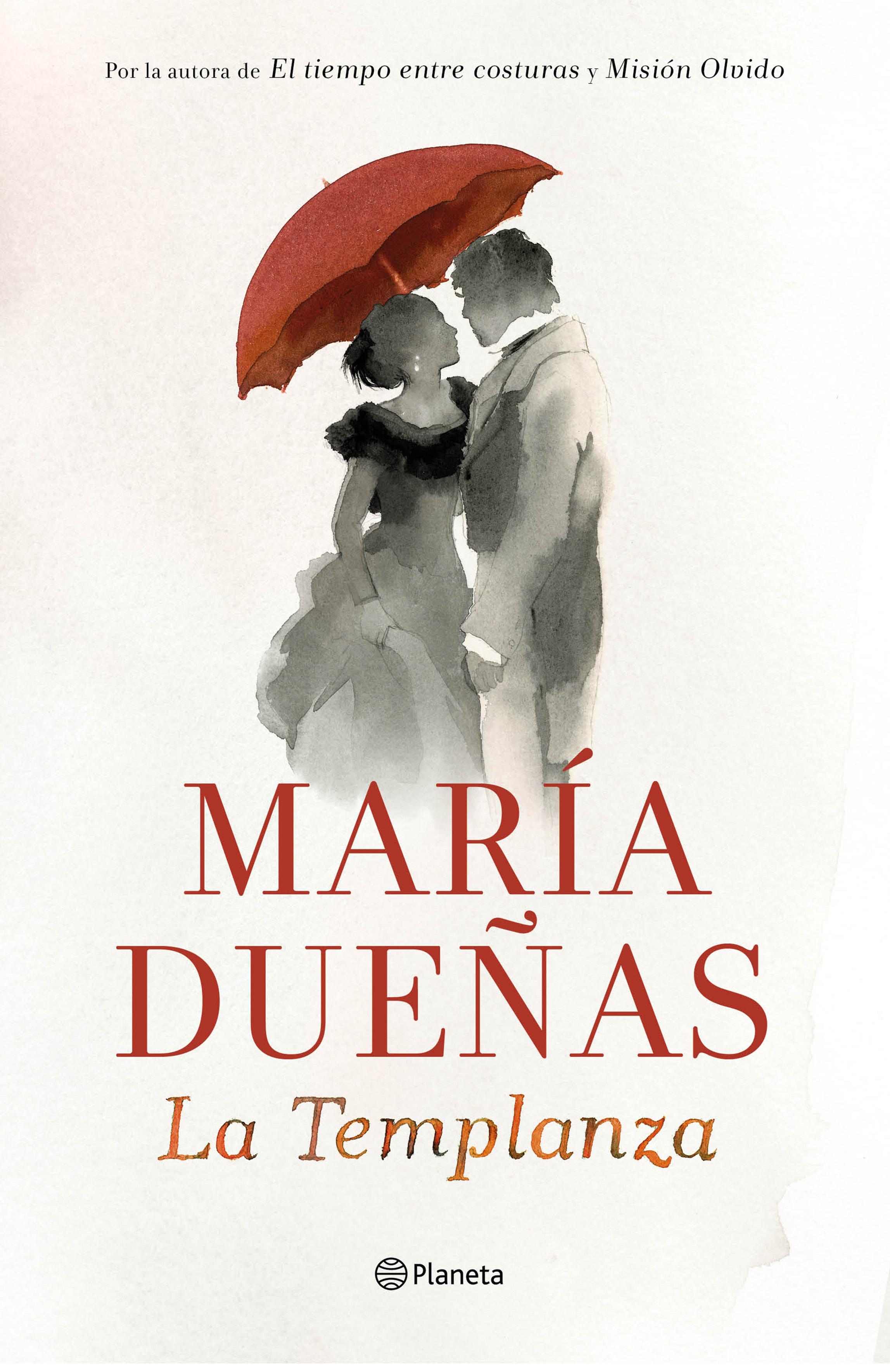 'La Templanza' de María Dueñas estará en todas las librerías de España y América Latina el próximo 17 de marzo