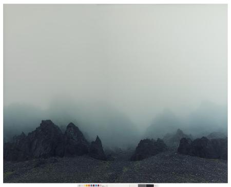 """Island Fog"" Axel Hütte 2002"