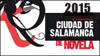 Convocatoria Premio Novela Ciudad de Salamanca 2015