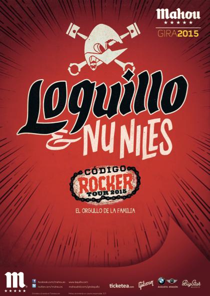 Loquillo presenta su gira Código Rocker Tour 2015