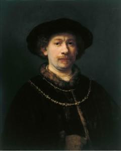 Autorretrato de Rembrandt - Museo Thyssen Bornemisza