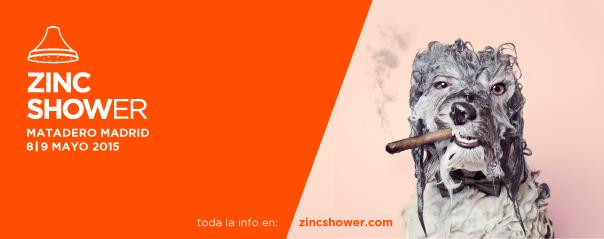 La tercera edición de Zinc Shower se celebrará el 8 y 9 de mayo en Matadero Madrid
