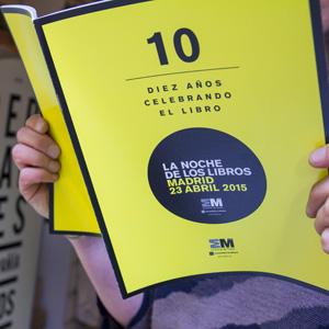 Muchos planes posibles para la Noche de los Libros 2015 en Madrid