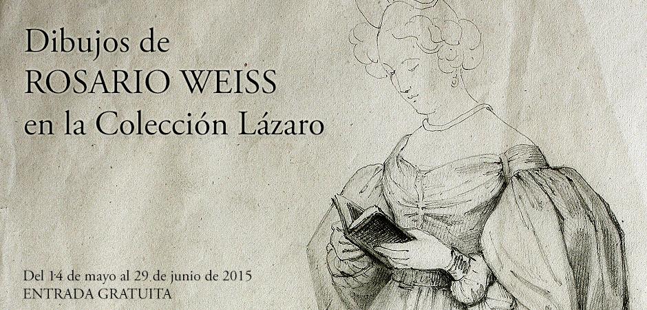 Los dibujos de Rosario Weiss llegan a Museo Lázaro Galdiano