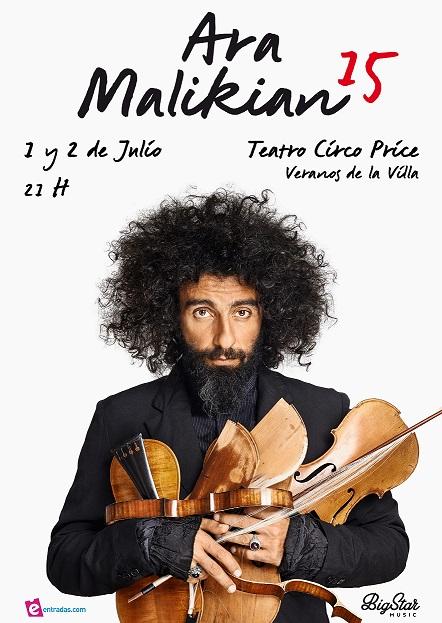 Arraca el Festival Veranos de la Villa 2015