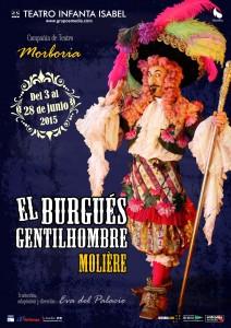 el-burgues-gentilhombre-cartel