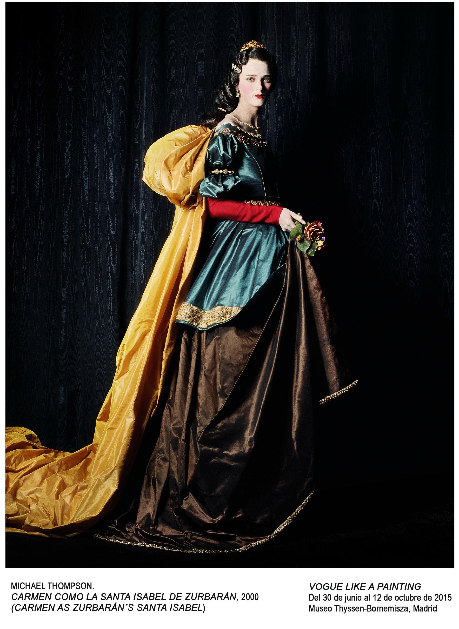 'Vogue like a painting' en el Thyssen-Bornemisza
