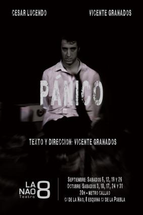 En otoño llega a la Nao8 Teatro 'Pánico'
