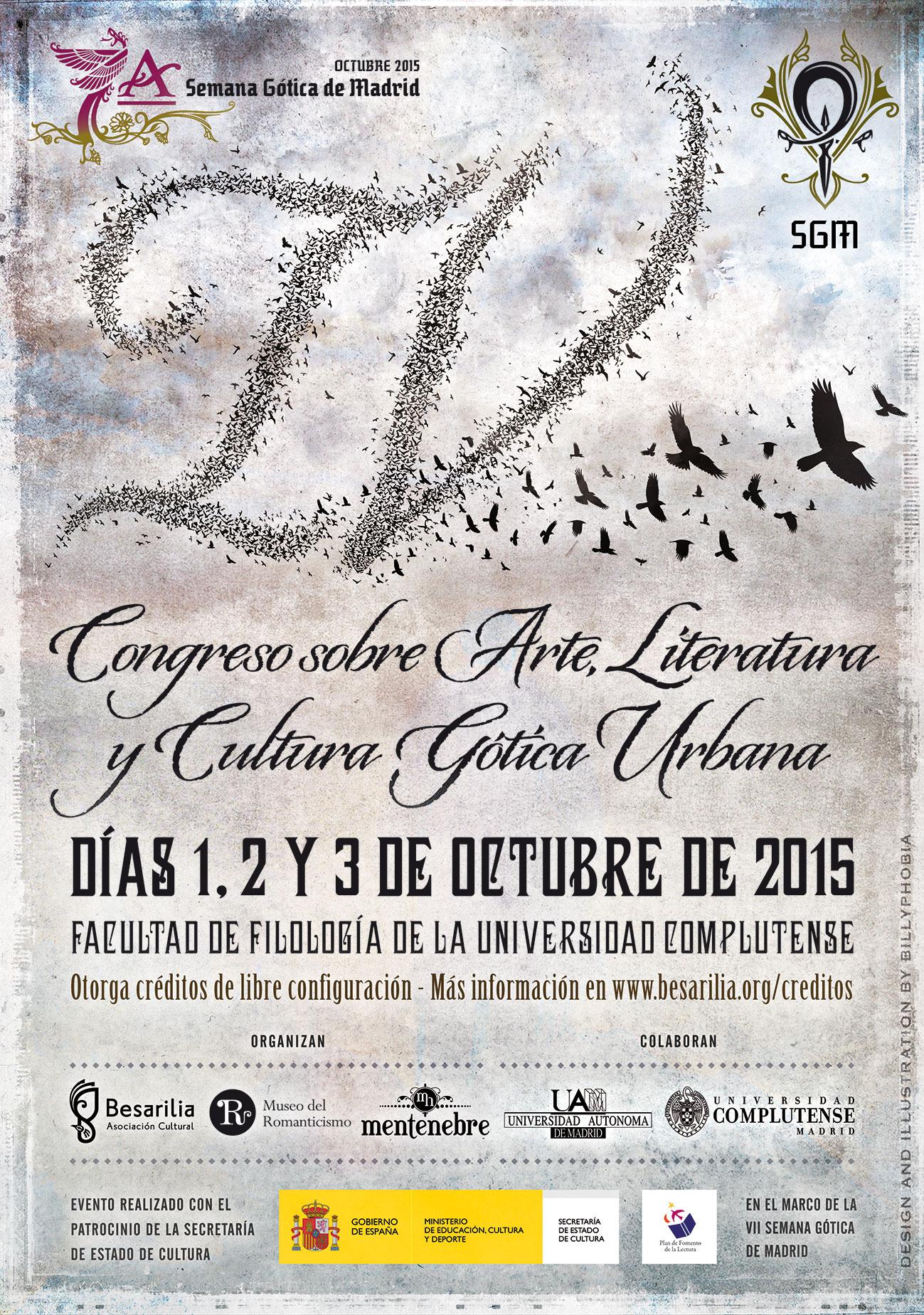 IV Congreso sobre arte, literatura y cultura gótica urbana