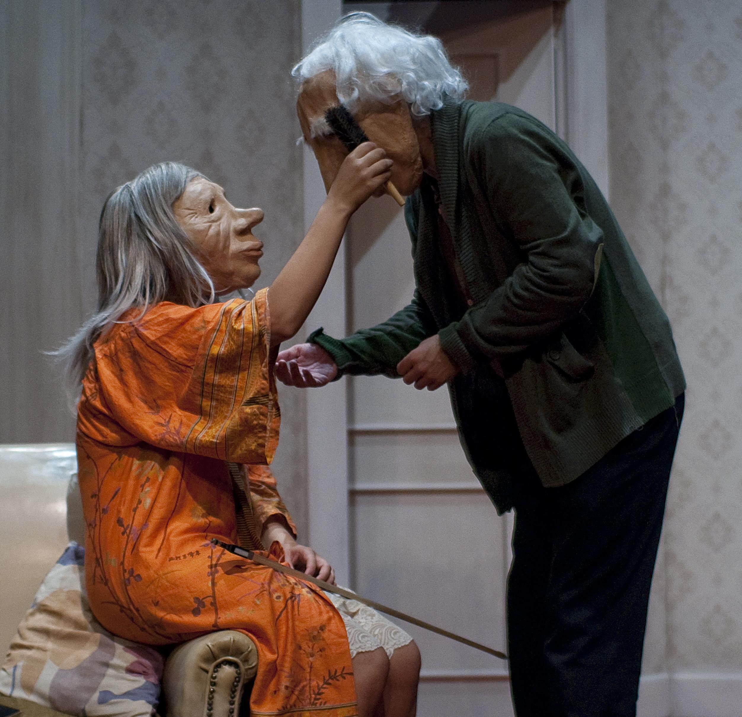 Kulunka Teatro llega a Barcelona con André y Dorine un montaje sobre el Alzheimer