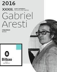 XXXIII Concurso de cuentos Gabriel Aresti