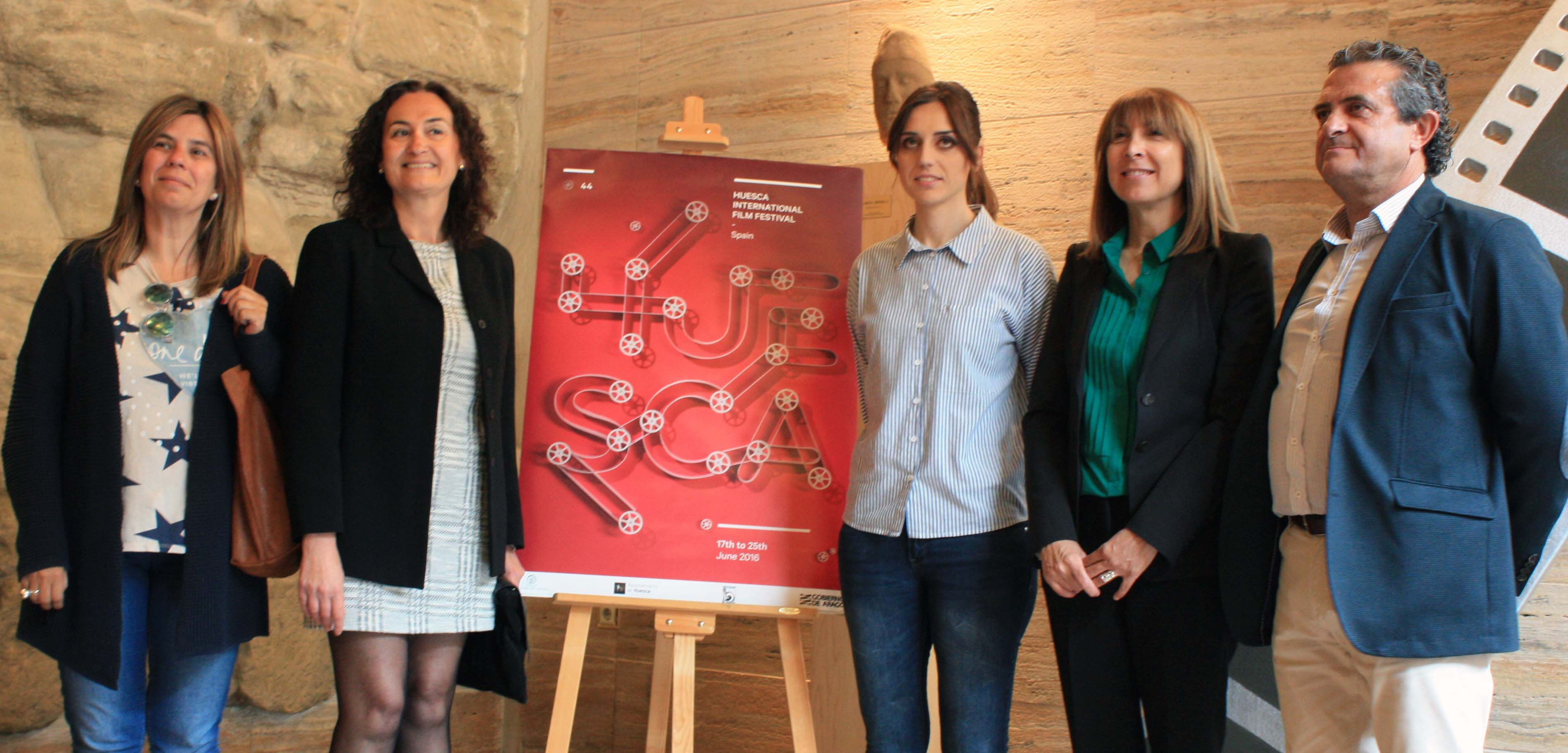Presentación del Festival de Cine de Huesca 2016