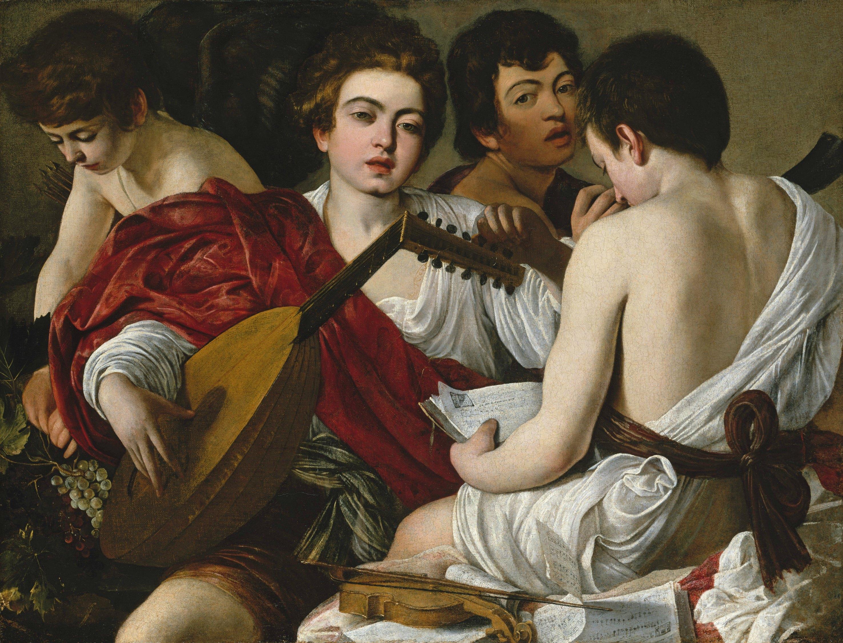 Los músicos de Caravaggio