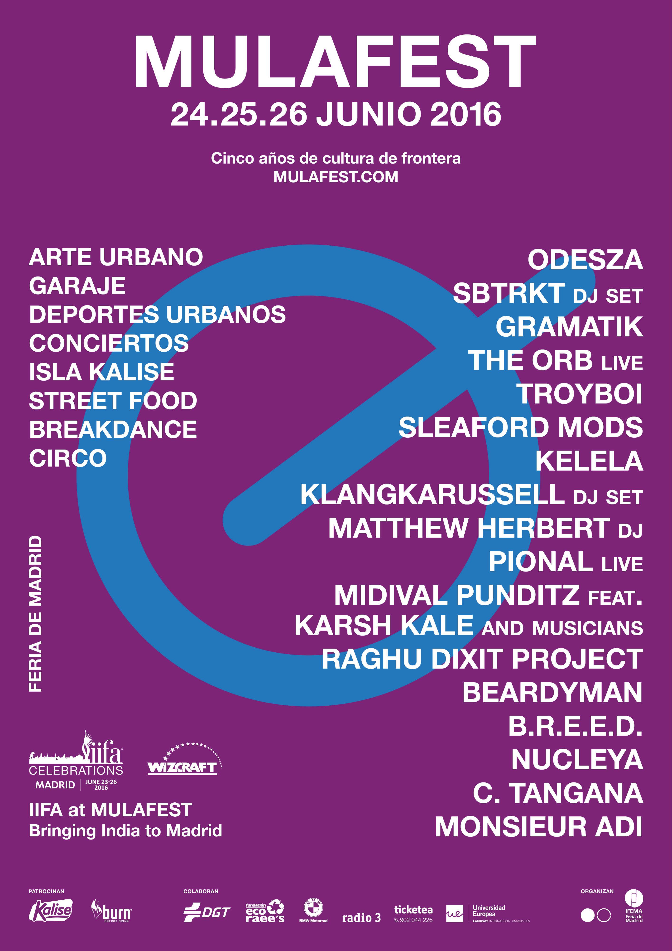 Cartel Mulafest edición 2016