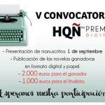 V Premio de novela romántica para autores de habla hispana