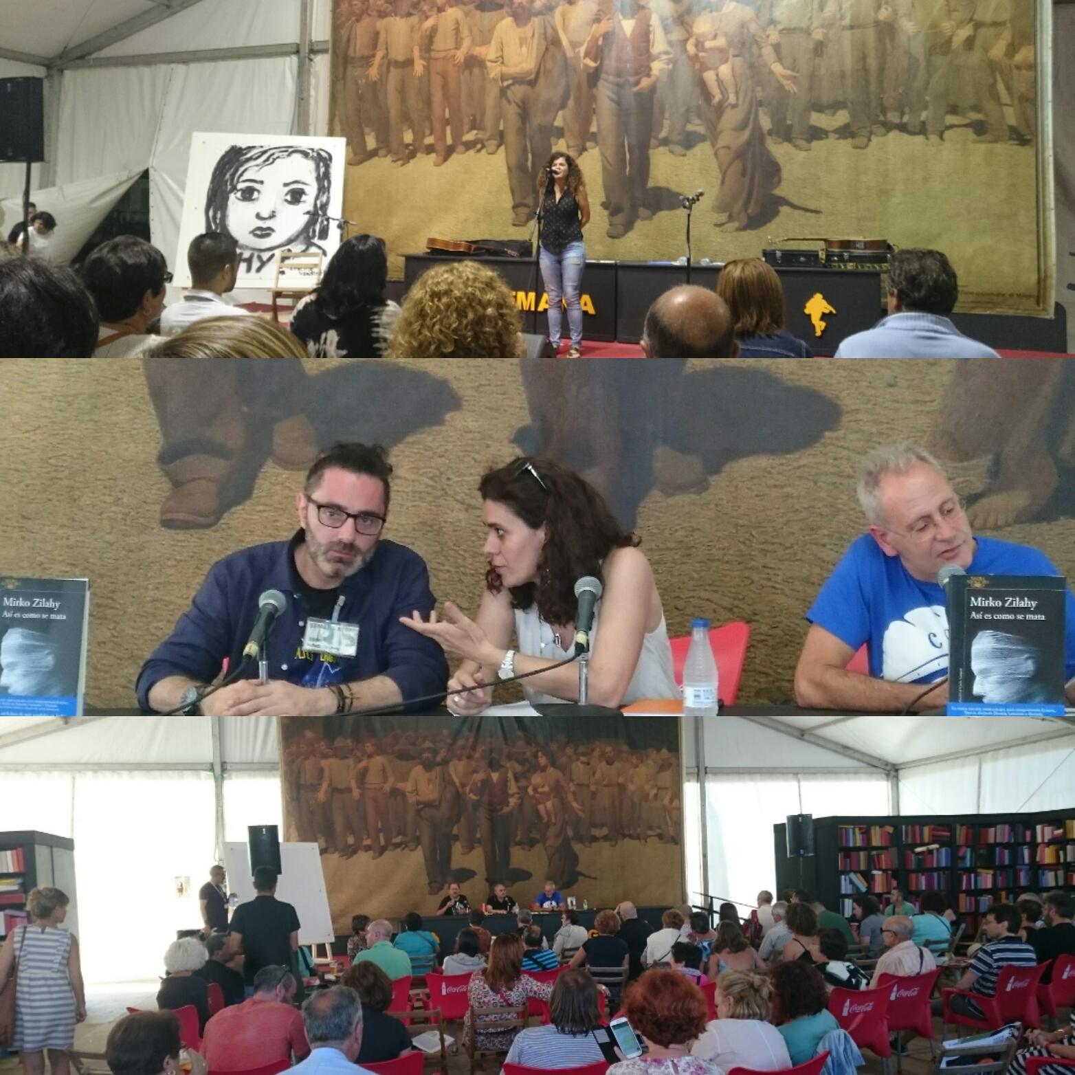 Semana negra con Mirko Zilahy, Sofía Castañón y otros autores