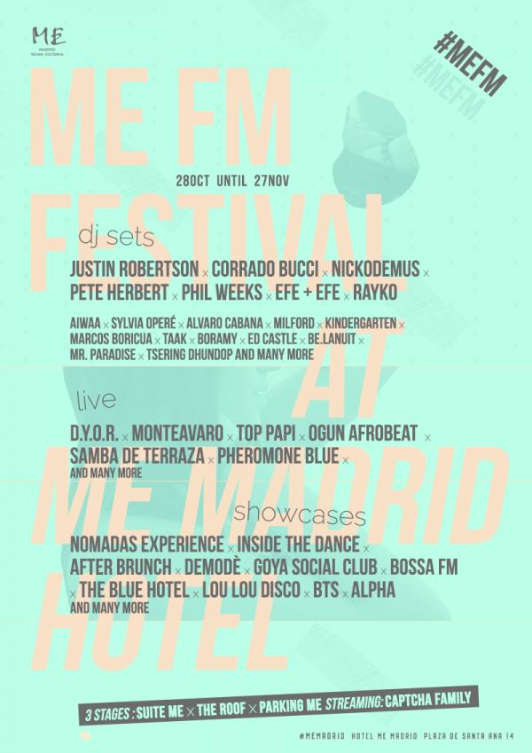 Cartel del Festival ME MEFM