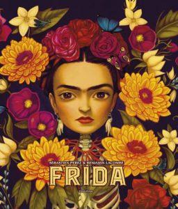 Frida Kahlo, por Benjamin Lacombe