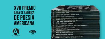 Convocatoria del XVII Premio Casa de América de Poesía Americana