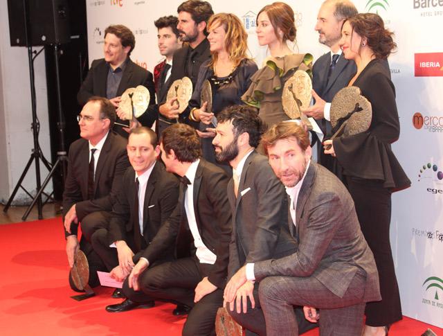 Raúl Arévalo consigue el Premio Forqué a mejor largometraje por 'Tarde para la ira'