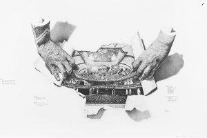 Teatro, dibujo de Emmanuel Lafont