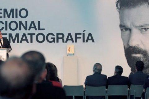 Antonio Banderas recibe el Premio Nacional de Cinematografía en la 65 edición del Festival de San Sebastían