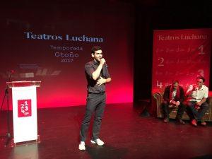 Fran Perea presenta la temporada de otoño 2017 Teatros Luchana