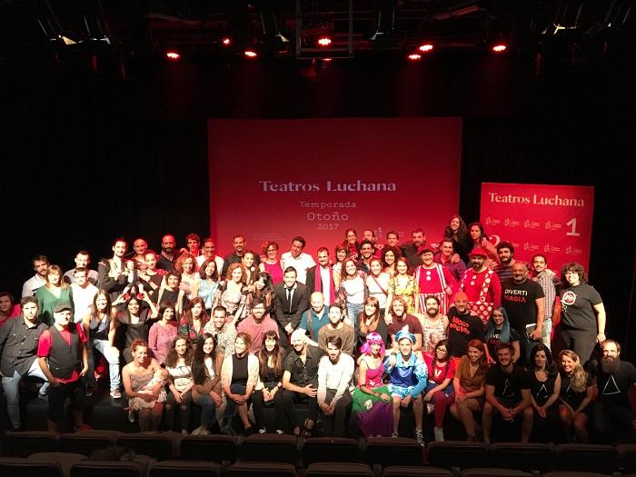 Presentación temporada 2017 Teatros Luchana