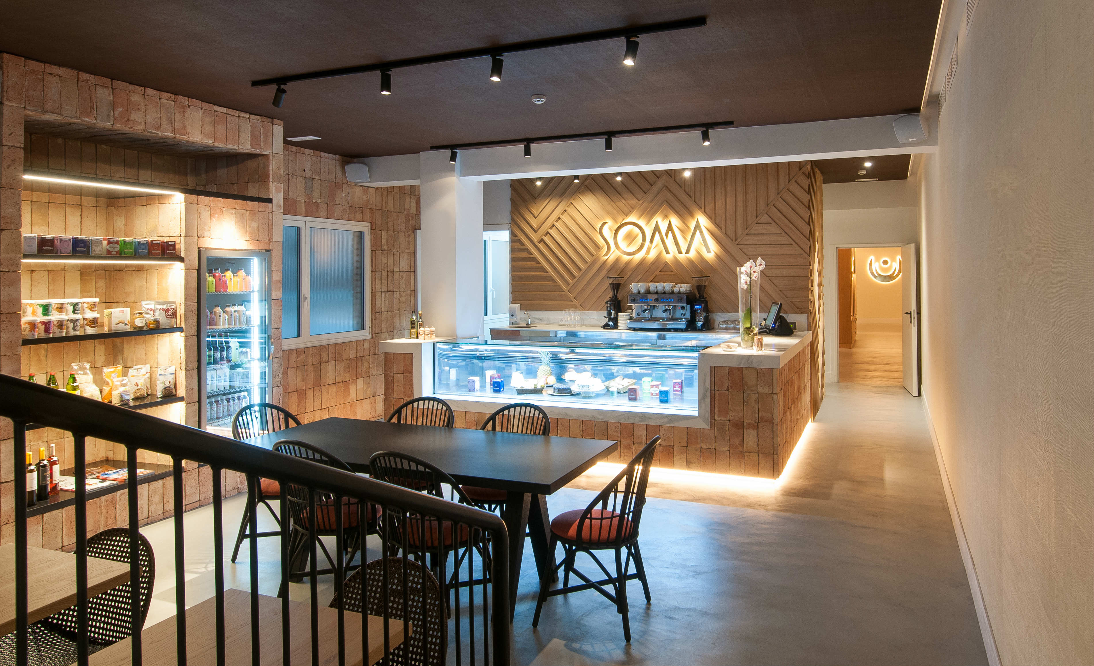 Healthy bar del centro de yoga Soma